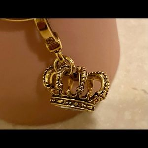 Juicy Couture Gold King Crown Charm
